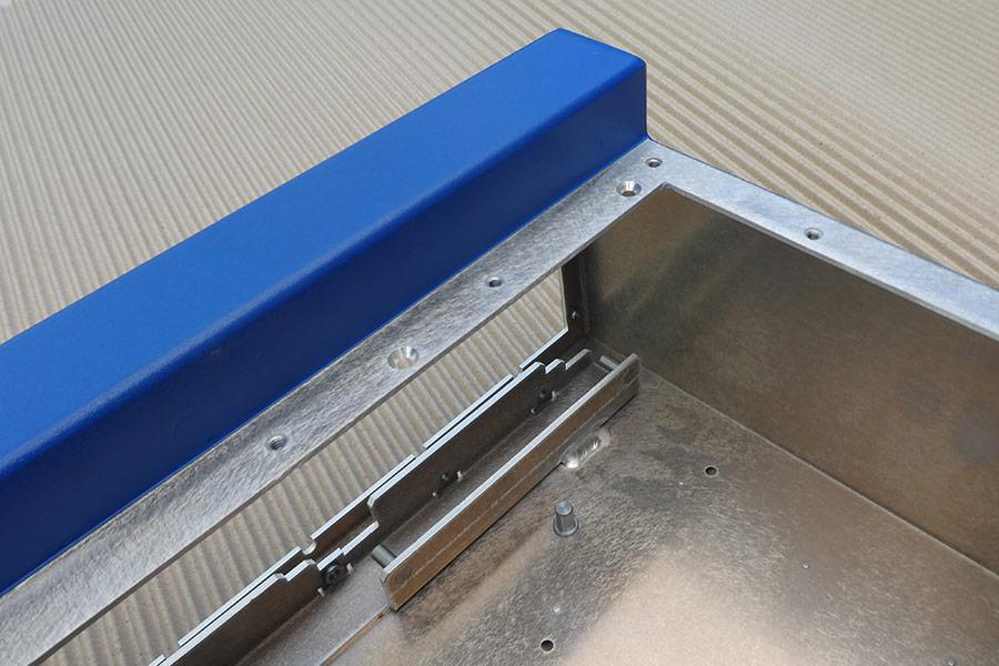 Closeup of Custom Electronics Enclosure